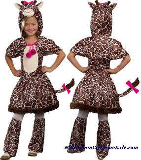 GIGI GIRAFFE CHILD COSTUME