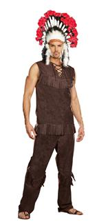 CHIEF LONG ARROW ADULT COSTUME