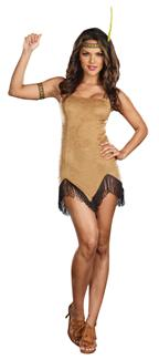 PRANCES WITH WOLVES ADULT COSTUME