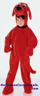 CLIFFORD BIG RED DOG CHILD COSTUME