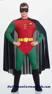 ROBIN DELUXE ADULT WEB COSTUME
