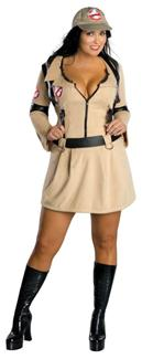 GHOSTBUSTERS FEMALE PLUS SIZE ADULT COSTUME