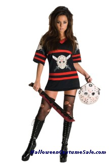 MISS SEXY VOORHEES ADULT COSTUME PLUS SIZE