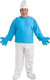 SMURFS PLUS SIZE ADULT COSTUME