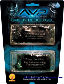 Alien Green Blood Gel