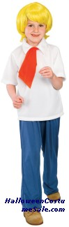 SCOOBY DOO FRED CHILD COSTUME