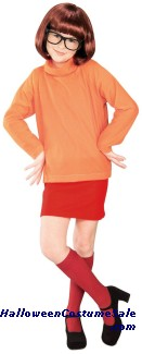 SCOOBY DOO VELMA CHILD COSTUME
