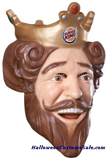 BURGER KING VINYL MASK
