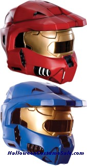 2 PC SPARTAN ADULT MASK