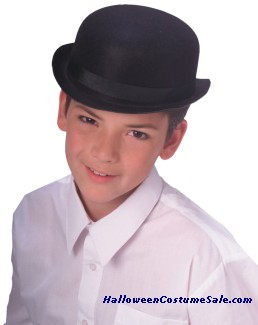 Derby Child Black Hat