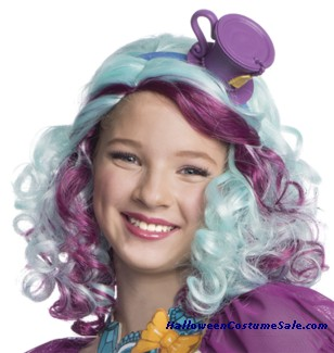 EVER AFTER HIGH MADELINE HATTER CHILD WIG