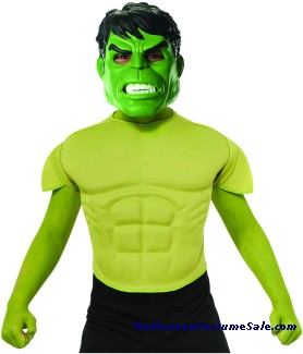 HULK TOP CHILD COSTUME