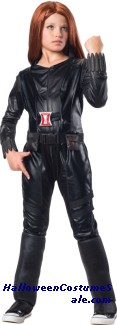 BLACK WIDOW DELUXE CHILD COSTUME