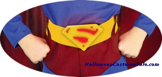 SUPERMAN ADULT DELUXE MOLDED BELT