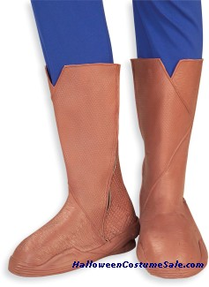 SUPERMAN ADULT DELUXE BOOT COVERS