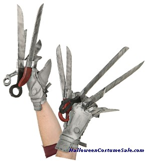 Adult Edward Scissorhands Gloves