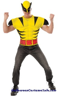 WOLVERINE CHEST SHIRT ADULT COSTUME
