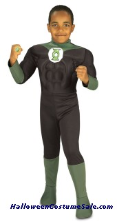 GREEN LANTERN CHILD COSTUME