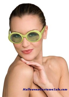 GLASSES FABULOUS CAPRI GREEN