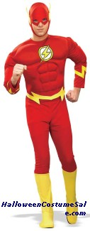 FLASH MUSCLE COSTUME