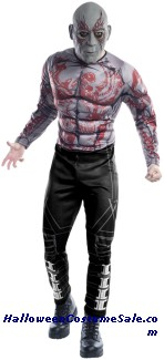 DRAX THE DESTROYER ADULT COSTUME