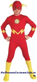 FLASH CHILD COSTUME