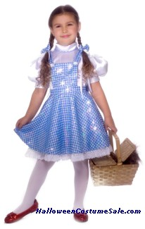 WIZ OF OZ DOROTHY CHILD COSTUME