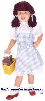 DOROTHY YARN BABIES CHILD COSTUME