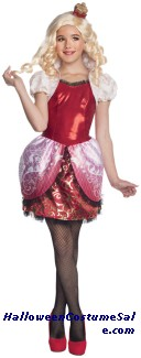 EVER AFTER HIGH APPLE WHITE CHILD COSTUME
