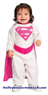 PINK SUPERGIRL INFANT COSTUME