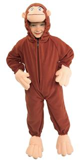 CURIOUS GEORGE CHILD/TODDLER COSTUME