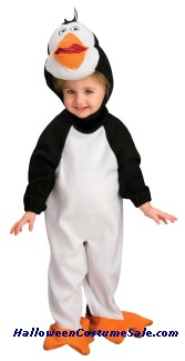 MADAGASCAR PENGUIN RICO INFANT/TODDLER COSTUME