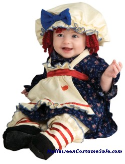 RAGAMUFFIN DOLLY CHILD/TODDLER COSTUME