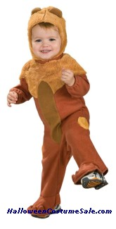COWARDLY LION INFANT COSTUME