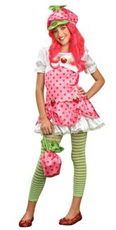STRAWBERRY SHORTCAKE TWEEN COSTUME