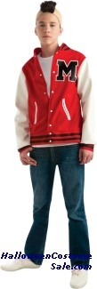 GLEE FOOTBALL PLAYER (PUCK) TEEN COSTUME
