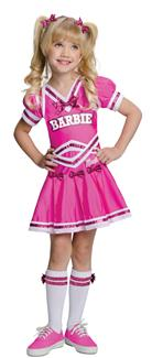 BARBIE CHEERLEADER CHILD/TODDLER COSTUME
