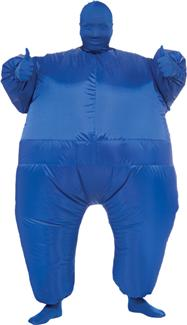 INFLATABLE SKIN SUIT ADULT COSTUME