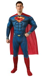 SUPERMAN PLUS SIZE ADULT COSTUME