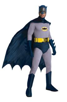 BATMAN COMIC PLUS SIZE ADULT COSTUME