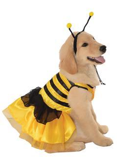 PET COSTUME BABY BUMBLEBEE