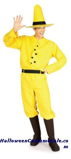 CURIOUS GEORGE ADULT COSTUME