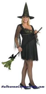MATERNITY WITCH ADULT COSTUME