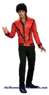 MICHAEL JACKSON THRILLER JACKET ADULT COSTUME