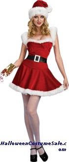 SEXY JINGLE ADULT COSTUME