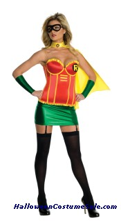 ROBIN FEMALE DELUXE ADULT COSTUME