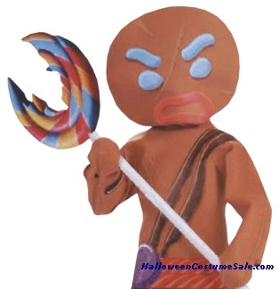 GINGERBREAD MAN INFLATE LOLLIPOP