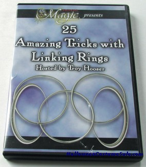 25 Amazing Tricks With Linking Rings Dvd