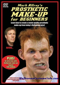 Prosthetic Makeup for Beginners DVD