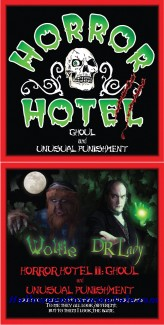 DAVID LADY HORROR HOTEL II CD